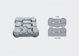 이엠에코 자연석형 잔디블록